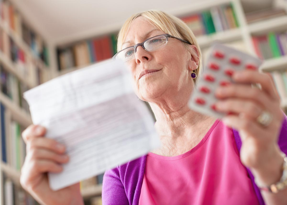 The menopause can be a distressing time - but even more so when medications are in short supply