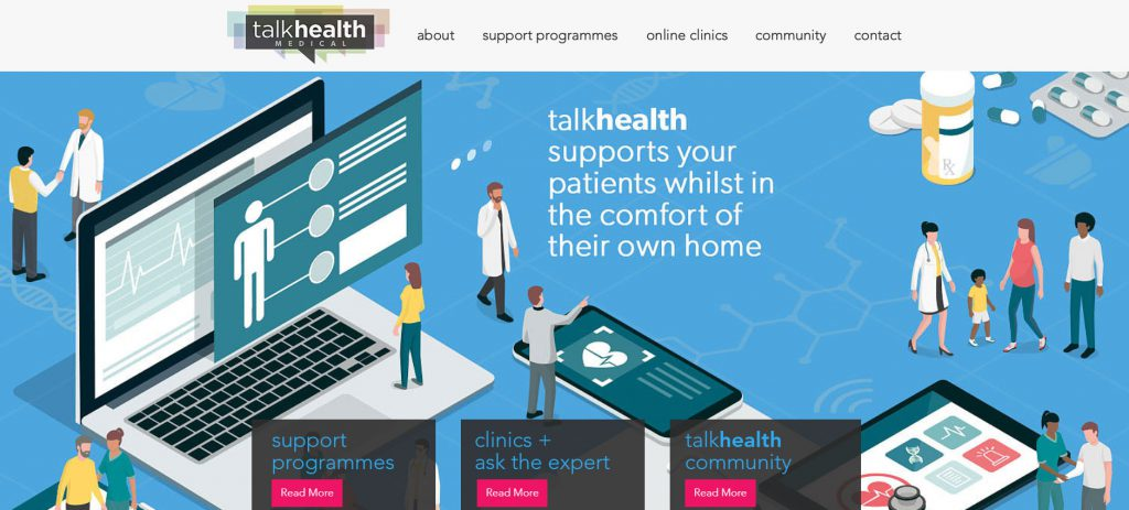 talkhealth medical website